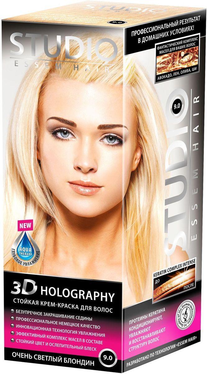 Studio стойкая крем-краска для волос 3Д Голографи 9.0 Очень светлый блондин 50/50/15 мл03227Очень светлый блонд поможет создать выразительный светлый оттенок! Невероятный блеск, стойкость цвета и максимальное закрашивание седины! Максимальное закрашивание седины Инновационная формула удерживает красящие пигменты на 25% дольше, чем обычная краска Светоотражающие частицы придают неповторимый блеск волосам Биоактивный коктейль с ценными маслами авокадо, льна, оливы, и карите восстанавливают, питают и насыщают волосы витаминами Кремовая текстура легко распределяется и не течет Молекулы гидролизованного кератина делают волосы потрясающе крепкими и здоровыми Система AQUA therapy с мощным компонентом нового поколения Cutina Shine поддерживает водный баланс волос от корней до кончиков.
