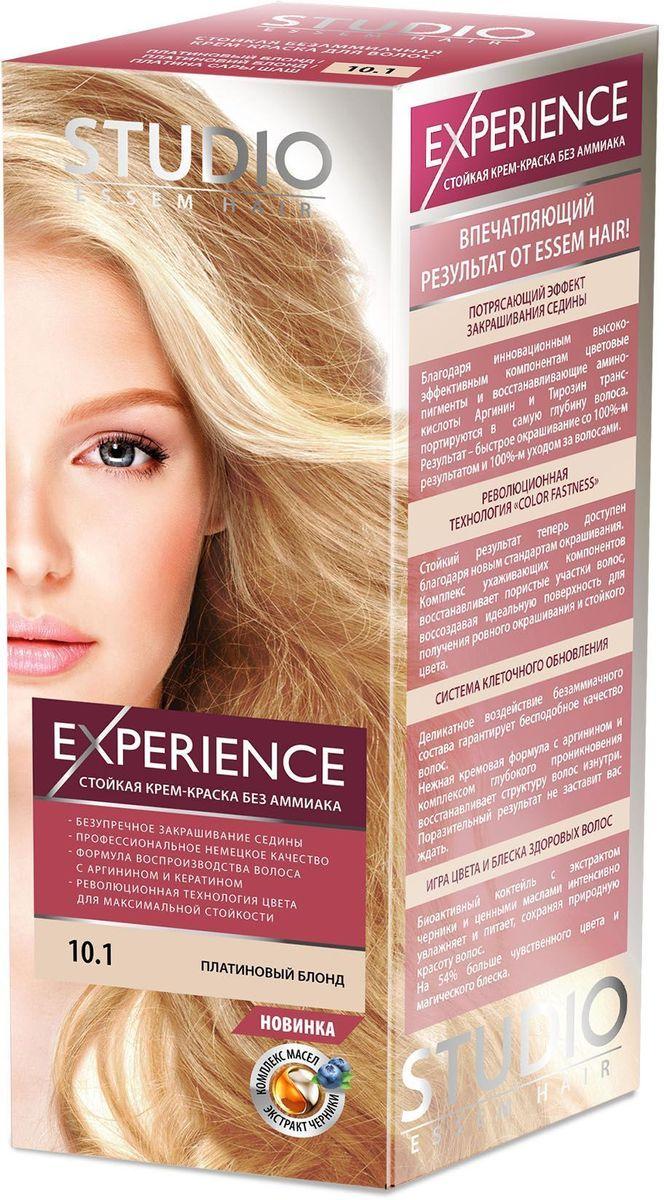 Studio безаммиачная краска для волос 10.1 Платиновый блонд 40/60/15 мл30919Пронзительный брюнет – загадочный оттенок, актуальный в любом сезоне! Невероятный блеск, стойкость цвета и максимальное закрашивание седины! Максимальное закрашивание седины.Деликатное воздействие безаммиачного состава гарантирует бесподобное качество волос.Нежная кремовая формула с аргинином и комплексом глубокого проникновения восстанавливает структуру волос изнутри.Светоотражающие частицы придают неповторимый блеск волосам.Биоактивный коктейль с ценными маслами авокадо, льна, оливы, и карите восстанавливают, питают и насыщают волосы витаминами.Кремовая текстура легко распределяется и не течет.Молекулы гидролизованного кератина делают волосы потрясающе крепкими и здоровыми.Система AQUA therapy с мощным компонентом нового поколения Cutina Shine поддерживает водный баланс волос от корней до кончиков.