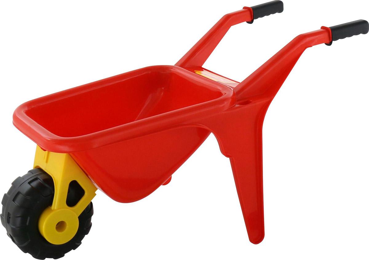 Полесье Тачка детская Садовод цвет красный - Игры на открытом воздухе