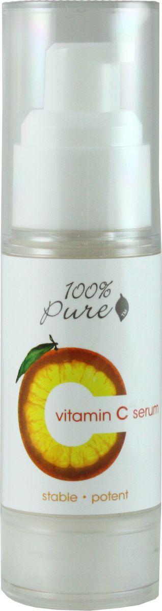 100% Pure Сыворотка с витамином С для лица 30 мл