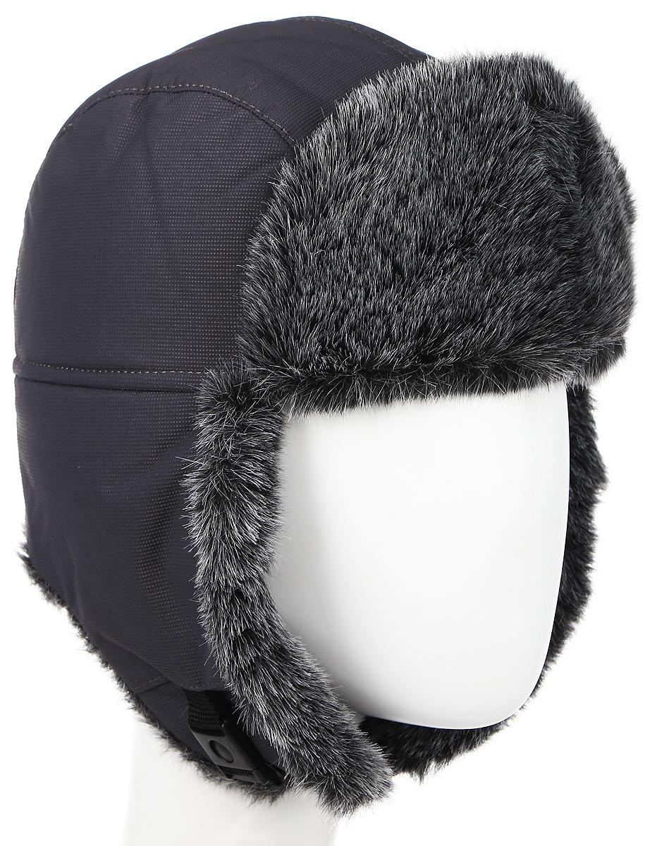 Шапка-ушанка Nova Tour Тепор М V2, цвет: серый. 95863-504. Размер 5995863-504Очень теплая шапка-ушанка для зимней рыбалки и активного отдыха на свежем воздухе!