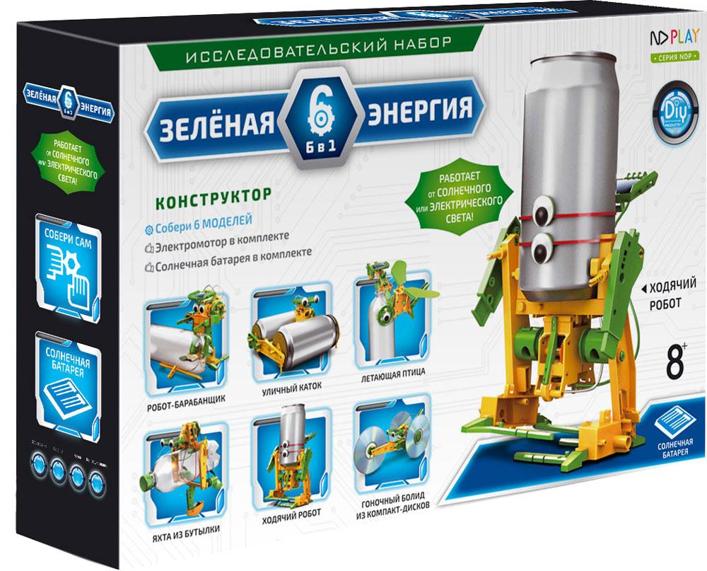 ND Play Конструктор Зеленая энергия 6 в 1