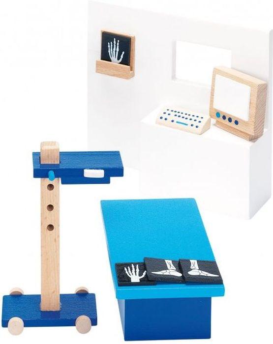 Goki Мебель для кукольной больницы Рентгеновский кабинет 10 предметов goki мебель для кукольной гостиной 28 предметов