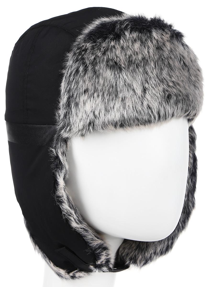 Шапка-ушанка adidas Climaproof, цвет: черный. AB0493. Размер 51 pelz шапка ушанка pelz s0555882 черный