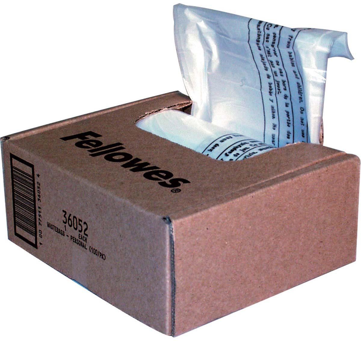 Fellowes мешки для уничтожителей, 23-28 литров (100 шт) -  Корзины для бумаг