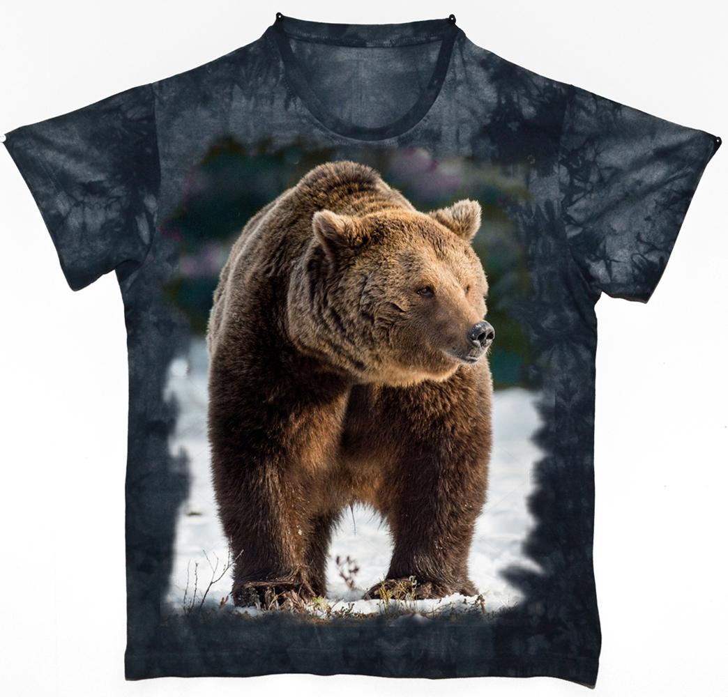 Футболка мужская Todomoda Медведь, цвет: темно-синий. 26261. Размер XL (52/54)26261Мужская футболка Todomoda выполнена из 100% хлопка. Модель имеет короткие рукава и круглый вырез горловины. Футболка дополнена изображением медведя на груди. Прекрасный подарок для себя и для друга.