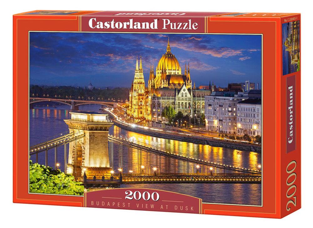 Castorland Пазл Будапешт в сумерках