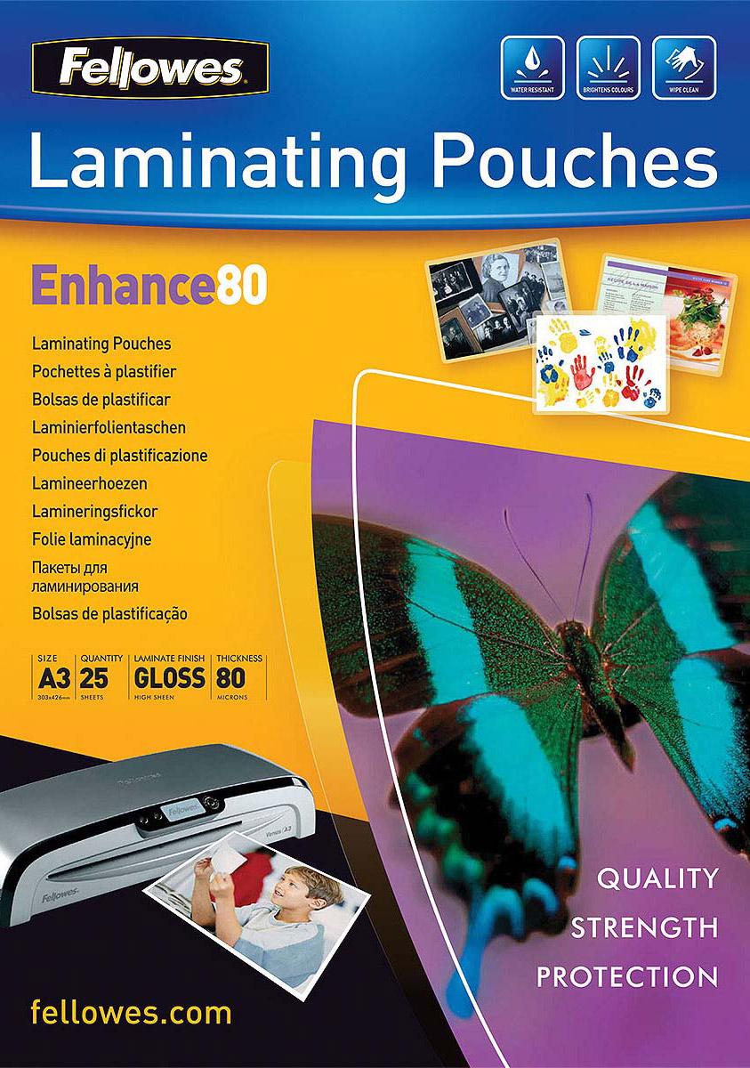 Fellowes FS-53964 A3, Transparent пленка для ламинирования (25 шт)