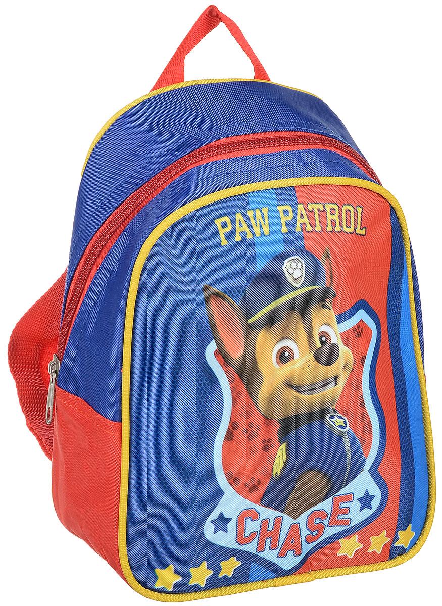 Paw Patrol Рюкзак дошкольный Chase31842Легкий и компактный дошкольный рюкзачок Paw Patrol - это красивый и удобный аксессуар для вашего ребенка. Рюкзак оформлен рисунком с одним из героев любимого детского мультика Щенячий патруль. Рюкзак состоит из одного отделения на застежке-молнии. В отделении легко поместятся не только игрушки, но даже тетрадка или книжка. Благодаря регулируемым лямкам, рюкзачок подходит детям любого роста. Удобная ручка помогает носить аксессуар в руке или размещать на вешалке. Износостойкий материал с водонепроницаемой основой и подкладка обеспечивают изделию длительный срок службы и помогают держать вещи сухими в дождливую погоду.