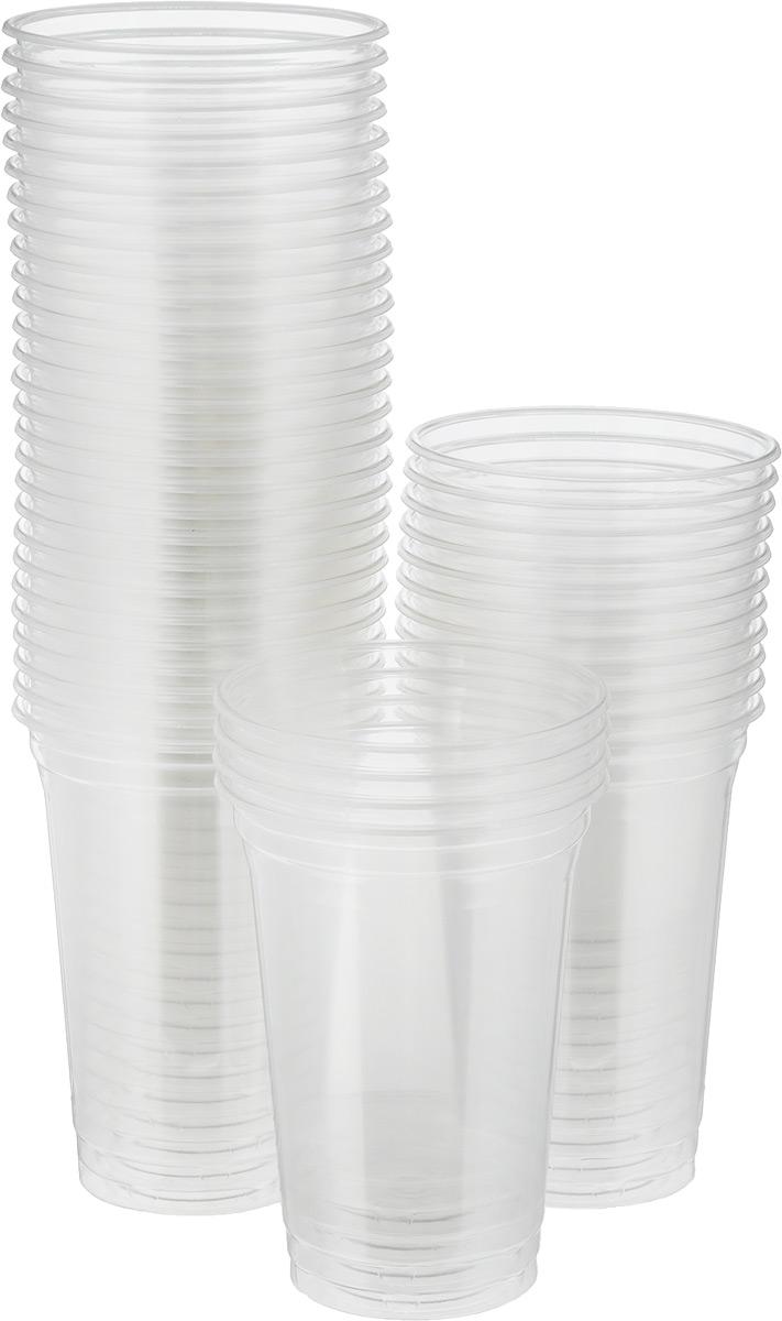 """Стакан одноразовый """"Стироллпласт"""" изготовлен из материала ПЭТ (полиэтилентерефталат). В наборе 50 стаканов, которые подойдут как для холодных, так и для горячих напитков.  Одноразовые стаканы будут незаменимы в поездках на природу, на пикниках и других мероприятиях. Они не занимают много места, легкие и самое главное - после использования их не надо мыть.  Диаметр стакана по верхнему краю: 9,5 см. Высота стакана: 13 см."""