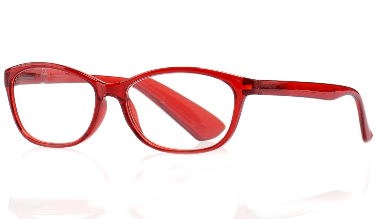Kemner Optics Очки для чтения +3,0, цвет: красный