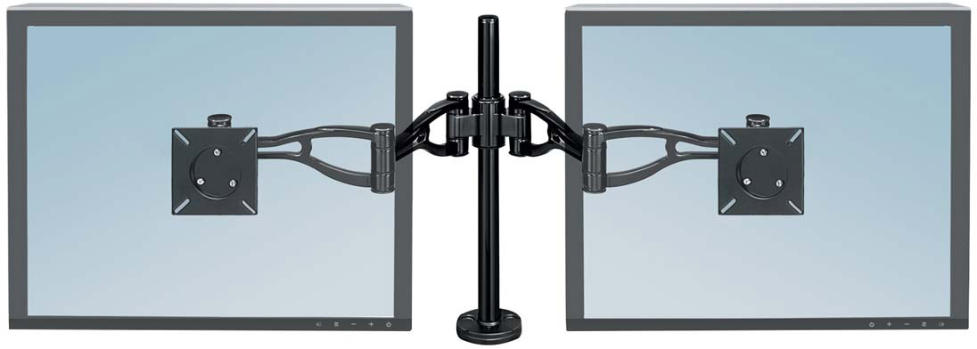 Fellowes FS-80417 кронштейн для 2 мониторов - Док-станции и подставки