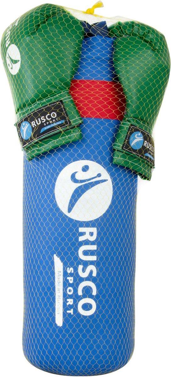 Набор для бокса Rusco, цвет: синий, зеленый, 6 oz