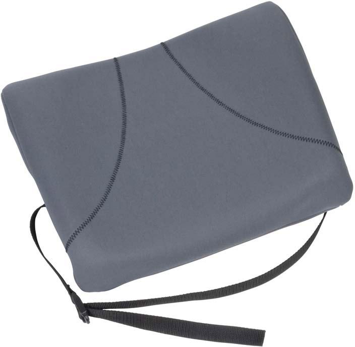 Fellowes Slimline подушка для креслаFS-91909Поддерживающая подушка Slimline (серая) для офисного кресла FS-91909 обеспечивает комфортное положение спины и снижает напряжение во время работы. Легко крепится к любому офисному креслу. Легко очищается.Гибкость настроек для любого пользователя.
