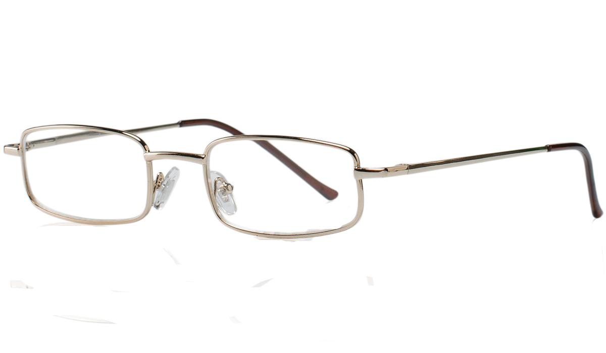 Kemner Optics Очки для чтения +2,5, цвет: золотой - Корригирующие очки