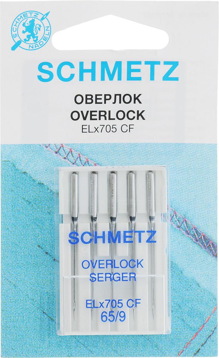 Иглы для плоскошовных машин Schmetz, №65, 5 шт иглы для плоскошовных машин schmetz 90 5 шт