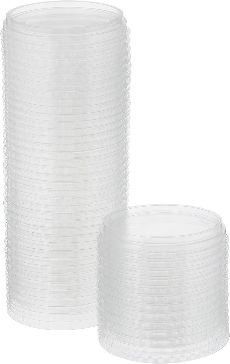 """Одноразовые крышки для стакана """"Стироллпласт"""" изготовлены из материала ПЭТ (полиэтилентерефталат). Эти плоские крышки подойдут для всех одноразовых стаканов диаметром 95 мм.  Одноразовая посуда незаменима в поездках на природу, на пикниках, а также на детских праздниках. Она не занимает много места, легкая и самое главное - после использования ее не надо мыть.  Диаметр крышки: 9,5 см."""