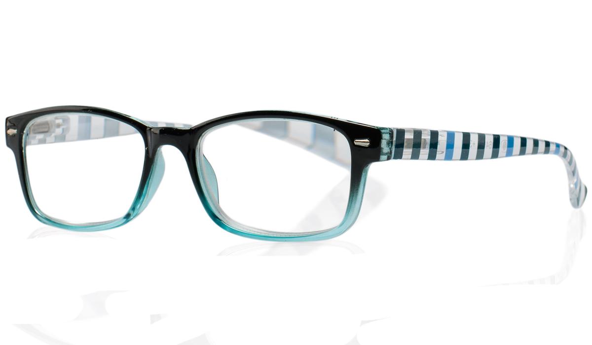 Kemner Optics Очки для чтения +2,0, цвет: голубой очки корригирующие grand очки готовые 2 0 g1178 c4