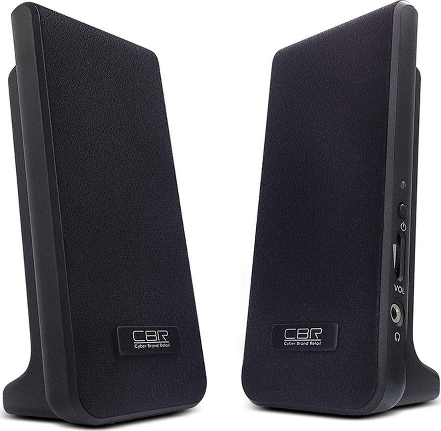 CBR CMS 295, Black акустическая система колонки cbr cms 295 2x3 вт черный