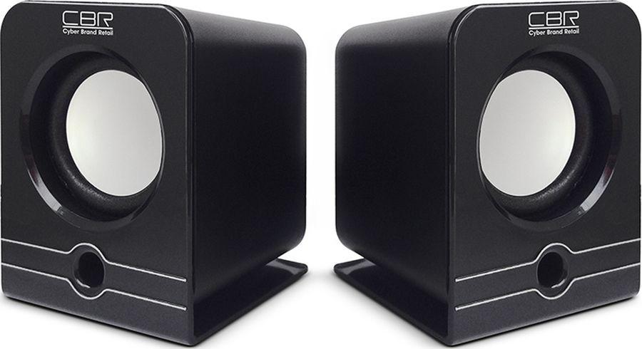 CBR CMS 303, Black акустическая системаCMS 303 BlackCBR CMS 303 - это мультимедийная акустическая стереосистема 2.0. Идеальна для использования с персональными компьютерами, ноутбуками, CD, MP3, TV и другими совместимыми аудио устройствами.Высокое качество звука обеспечено высокими техническими показателями воспроизведения: пиковая мощность 1,5 Вт для каждой колонки, диапазон частот от 90 до 20000 Гц. Регулятор громкости удобно размещен на проводе.Для начала работы достаточно подключить CBR CMS 303 к USB-порту и аудио выходу (не требуется драйверов).