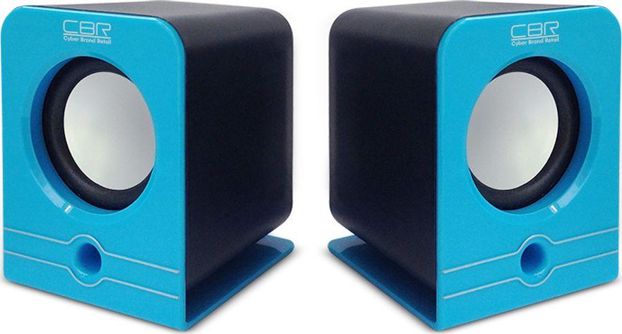 CBR CMS 303, Blue акустическая системаCMS 303 BlueCBR CMS 303 - это мультимедийная акустическая стереосистема 2.0. Идеальна для использования с персональными компьютерами, ноутбуками, CD, MP3, TV и другими совместимыми аудио устройствами.Высокое качество звука обеспечено высокими техническими показателями воспроизведения: пиковая мощность 1,5 Вт для каждой колонки, диапазон частот от 90 до 20000 Гц. Регулятор громкости удобно размещен на проводе.Для начала работы достаточно подключить CBR CMS 303 к USB-порту и аудио выходу (не требуется драйверов).