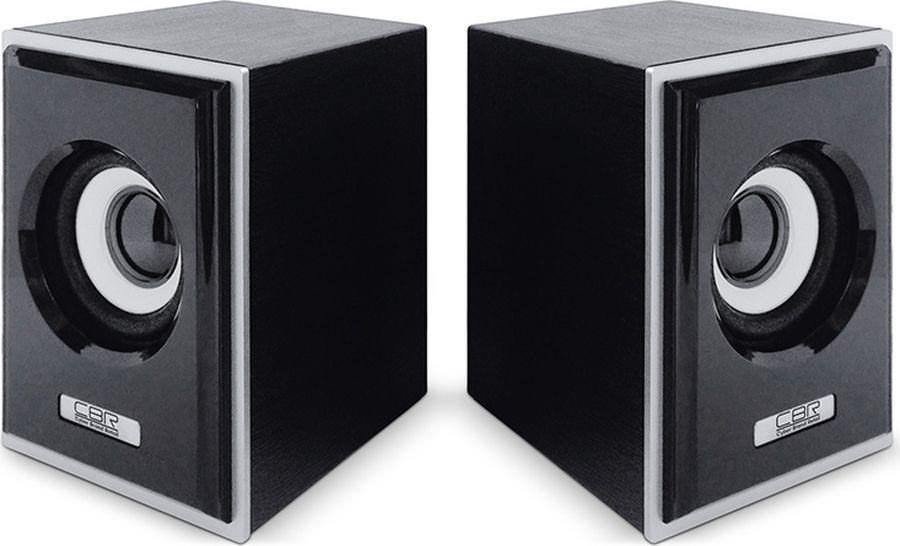 CBR CMS 408, Black Silver акустическая системаCMS 408CBR CMS 408 - это мультимедийная акустическая стереосистема 2.0. Идеальна для использования с персональными компьютерами, ноутбуками, CD, MP3, TV и другими совместимыми аудио устройствами.Высокое качество звука обеспечено высокими техническими показателями воспроизведения: пиковая мощность 3 Вт для каждой колонки, диапазон частот от 90 до 20000 Гц. Регулятор громкости удобно размещен на кабеле.Для начала работы достаточно подключить CBR CMS 408 к USB-порту и аудио выходу (не требуется драйверов).