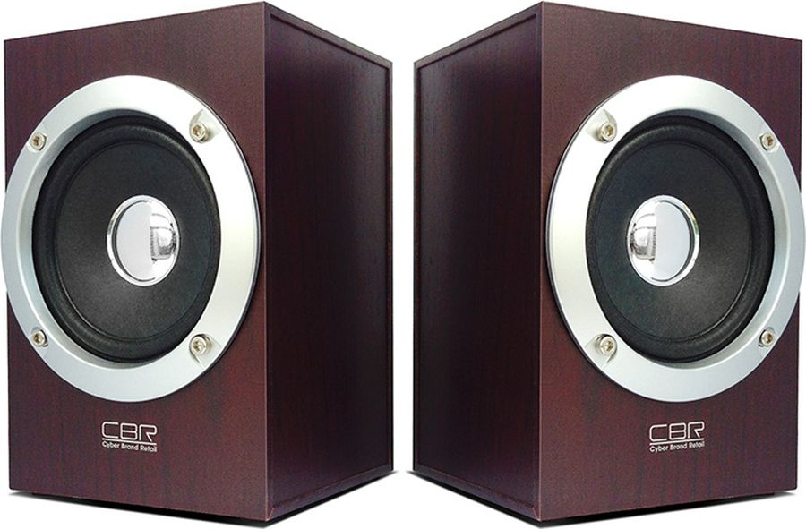 CBR CMS 650, Wooden акустическая системаCMS 650CBR CMS 650 - это мультимедийная акустическая стереосистема 2.0. Идеальна для использования с персональными компьютерами, ноутбуками, CD, MP3, TV и другими совместимыми аудио устройствами.Высокое качество звука обеспечено высокими техническими показателями воспроизведения: пиковая мощность 3 Вт для каждой колонки, диапазон частот от 90 до 20000 Гц. Регулятор громкости удобно размещен на проводе.Для начала работы достаточно подключить CBR CMS 650 к USB-порту и аудио выходу (не требуется драйверов).