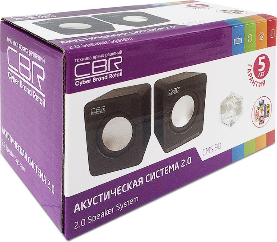 CBR CMS 90, Blackакустическая система
