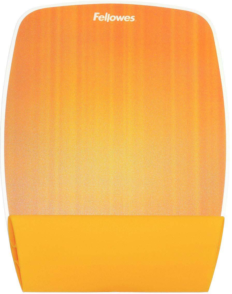Fellowes FS-93624 Апельсин коврик для мышиFS-93624Мягкая и приятная на ощупь подкладка коврика для мыши Fellowes FS-93624 поддерживает запястье.Коврик имеет инновационный дизайн и комфорт.Яркий, радужный коврик украсит рабочее место.Изделие легко очищается.Подходит для оптических и лазерных мышей.