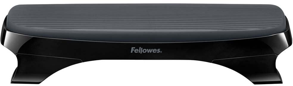 Fellowes I-Spire Series, Black подставка для ногFS-94795Подставка Fellowes I-Spire Series приподнимает ноги, обеспечивая правильное и удобное положение во время работы. Нескользящая рельефная поверхность предотвращает скольжение стоп по поверхности подставки и делает ее использование комфортным. Стильный дизайн гармонично сочетается с любым интерьером.
