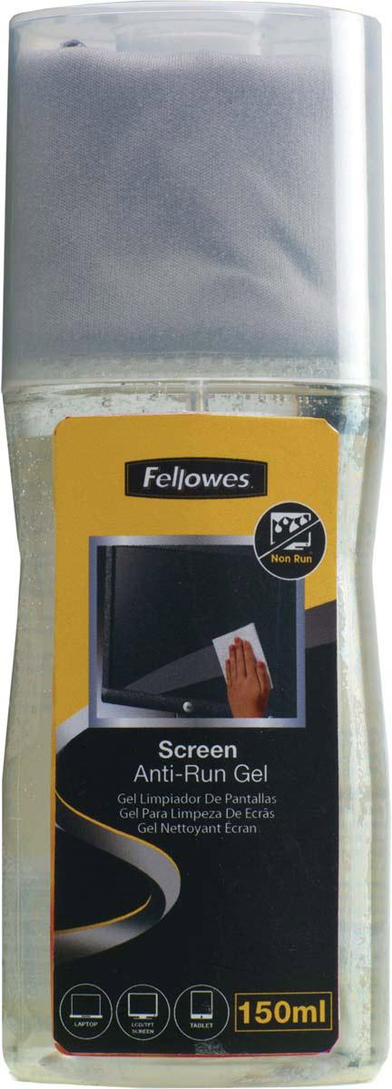 Fellowes FS-99079 чистящий гель для экранов + салфетка из микрофибрыFS-99079Чистящий гель с салфеткой из микрофибры бережно и эффективно очистит поверхность экрана. Его можно наносить непосредственно на экран. Не течет, содержит антистатический компонент. Компактный форм-фактор - салфетка хранится в колпачке флакона. Подходит для любых TFT/LCD экранов.
