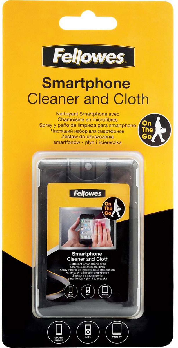 Fellowes FS-99106 чистящий набор для смартфонов: спрей для сенсорных экранов, салфетка из микрофибры - Чистящие средства