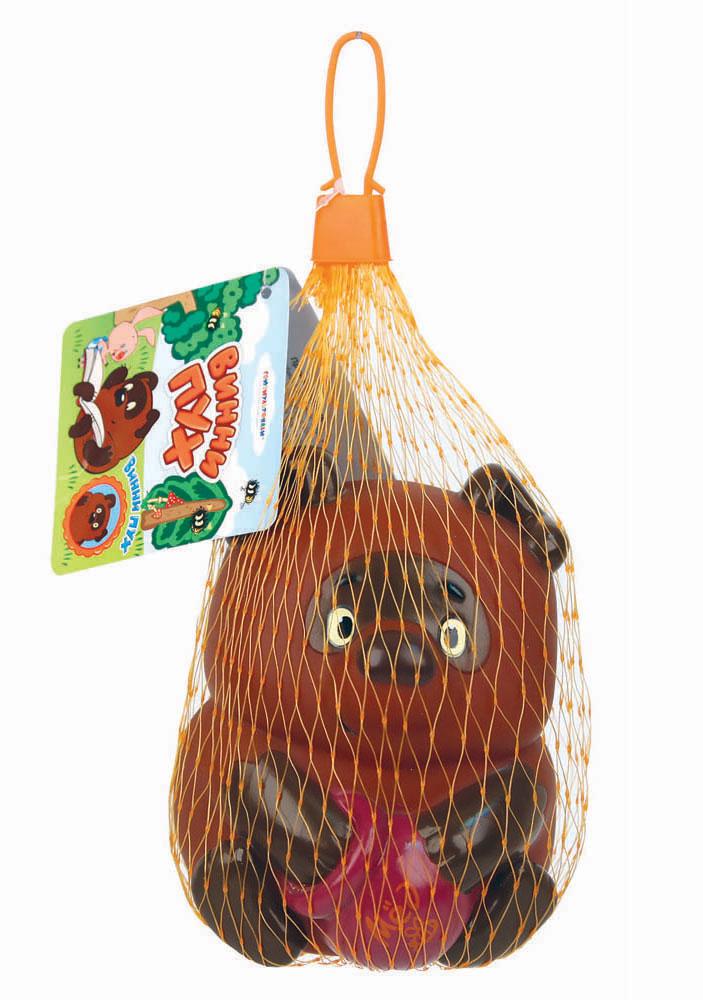 Союзмультфильм Игрушка для ванной Винни Пух игрушки для ванной союзмультфильм игрушка винни пух блистере