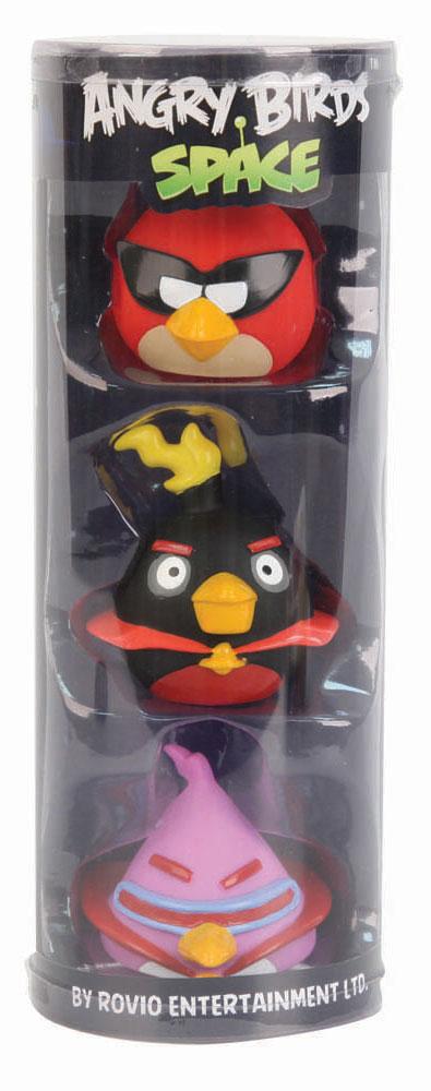 Angry Birds Набор игрушек для ванной 3 шт