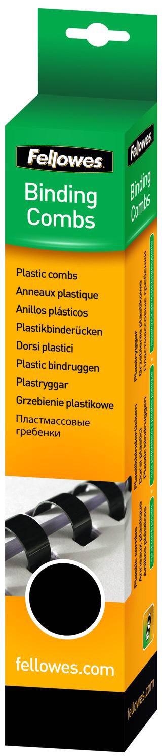 Fellowes FS-53469, Black пружина для переплета, 14 мм (100 шт)FS-53469Пружина пластиковая. Обладает высокой упругостью на разжим, надежно удерживает листы в переплете. Возможно многократное использование. Предназначена для переплета всех видов документов.