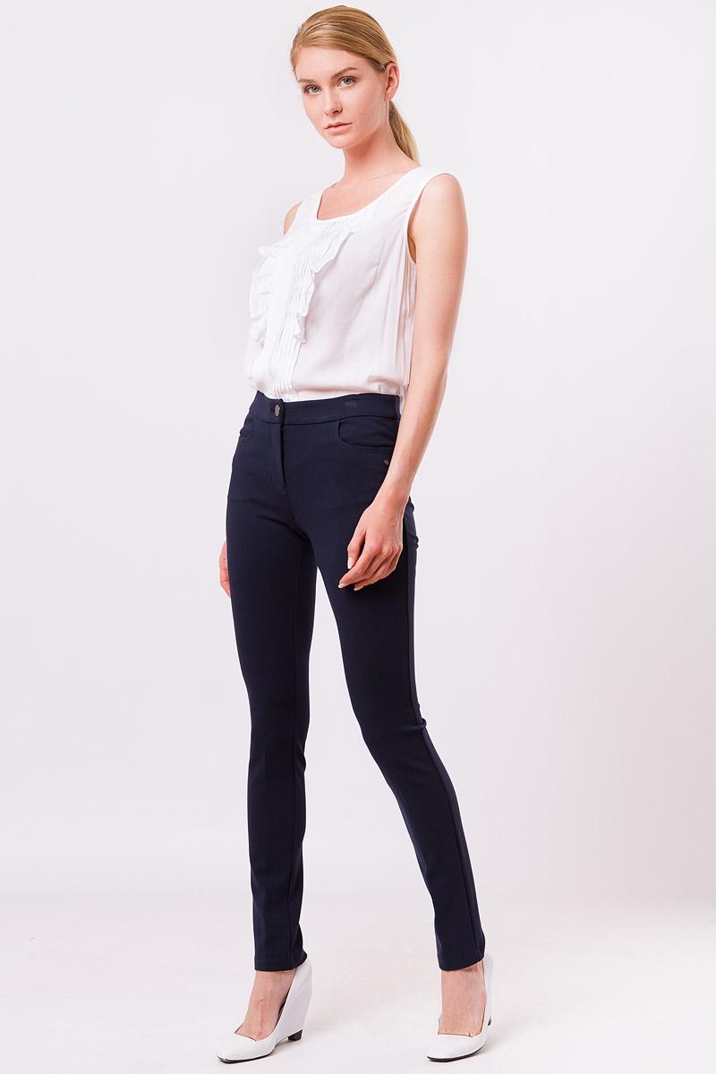 Блузка женская Finn Flare, цвет: белый. S17-11022_201. Размер L (48)