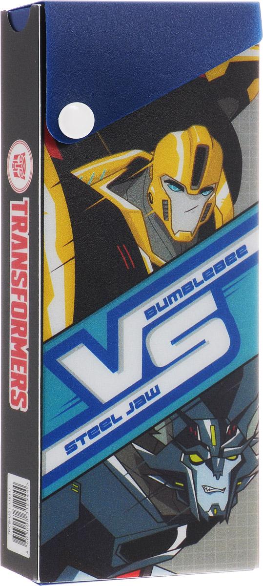 Kinderline Пенал Transformers Prime выдвижной на кнопкеTRCB-US1-118117Пенал Kinderline Transformers Prime станет не только практичным, но и стильным школьным аксессуаром для мальчика.Пенал Herlitz выполнен из прочного материала, выдвигается и застегивается на кнопку. Состоит из одного вместительного отделения.Такой пенал станет незаменимым помощником для школьника, с ним ручки и карандаши всегда будут под рукой и больше не потеряются.