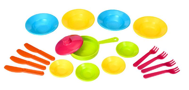 РосИгрушка Набор игрушечной посуды Первый блин ролевые игры росигрушка набор посуды столовый рыбный день 9 деталей