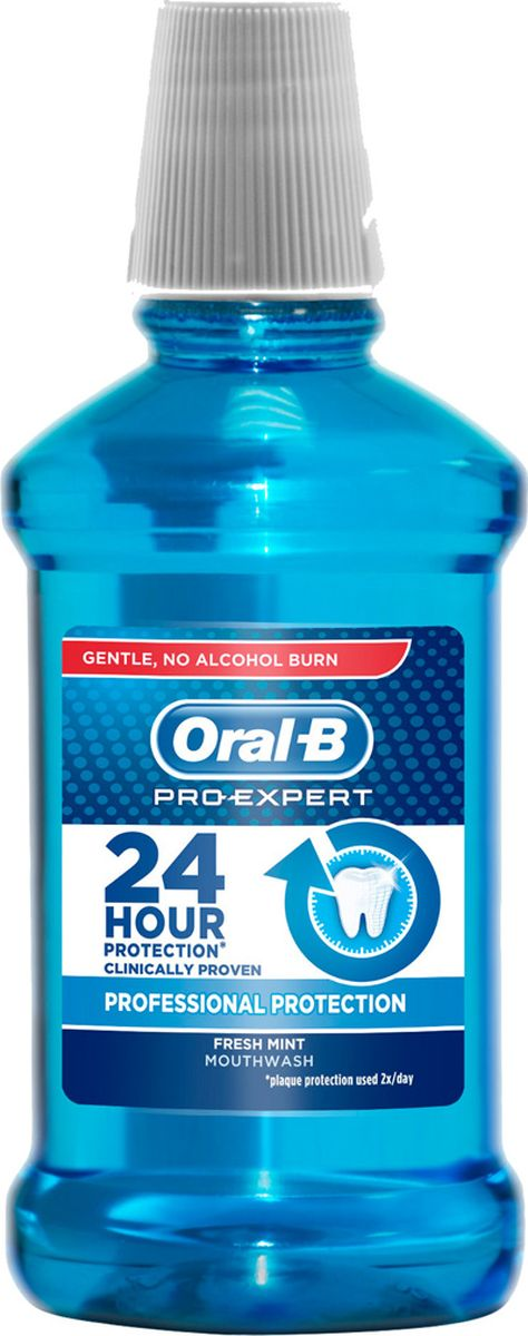 Oral-B ополаскиватель для полости рта Professional Protection Свежая Мята 250 мл waterpulse professional oral care teeth cleaner irrigator electric oral irrigator dental flosser