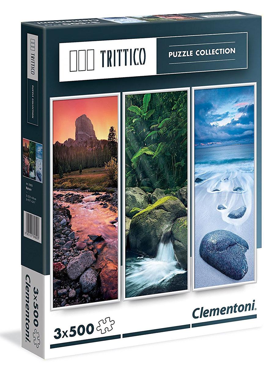 Clementoni Пазл Живая вода 3 в 1