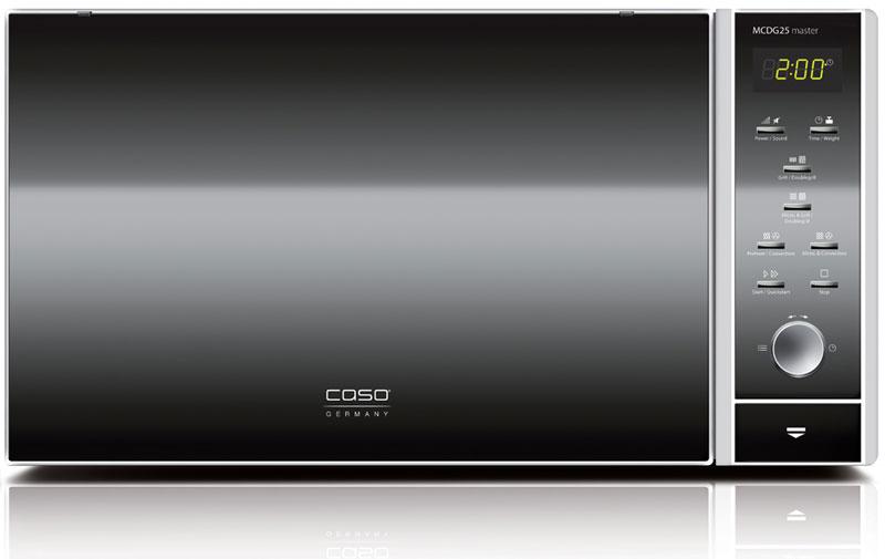 CASO MCDG 25 Master 4 in 1, Black Silver микроволновая печь
