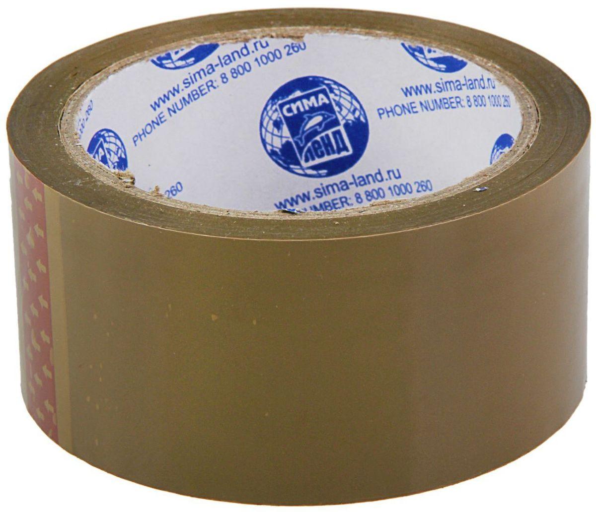 Клейкая лента цвет темно-коричневый 48 мм х 66 м1268207Упаковочная клейкая лента изготовлена из двуосноориентированного полипропилена (ВОРР) высокой прочности с нанесением клеевого слоя с одной стороны ленты.Она универсальна и используется в основном для заклейки гофрокоробов, оклеивания различных грузов, обернутых в стрейч-пленку или в полиэтиленовую пленку.Не следует клеить ленту непосредственно на неупакованную продукцию, так как следы клея плохо отмываются.