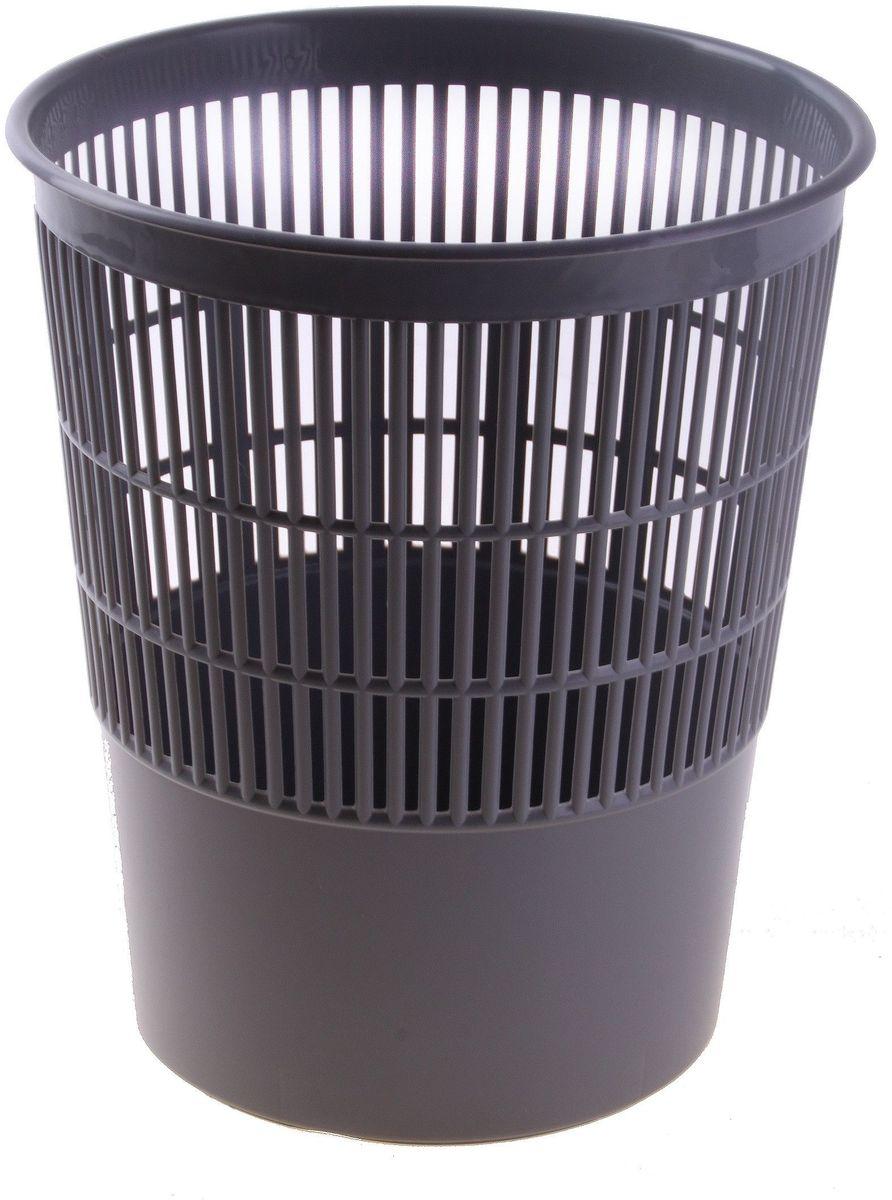Стамм Корзина для бумаг 14 л цвет серый 584831584831Сетчатая корзина для бумаг незаменима в офисе. Корзина выполнена из высококачественного твердого пластика. Корзина для бумаг поможет содержать ваше рабочее место в порядке.