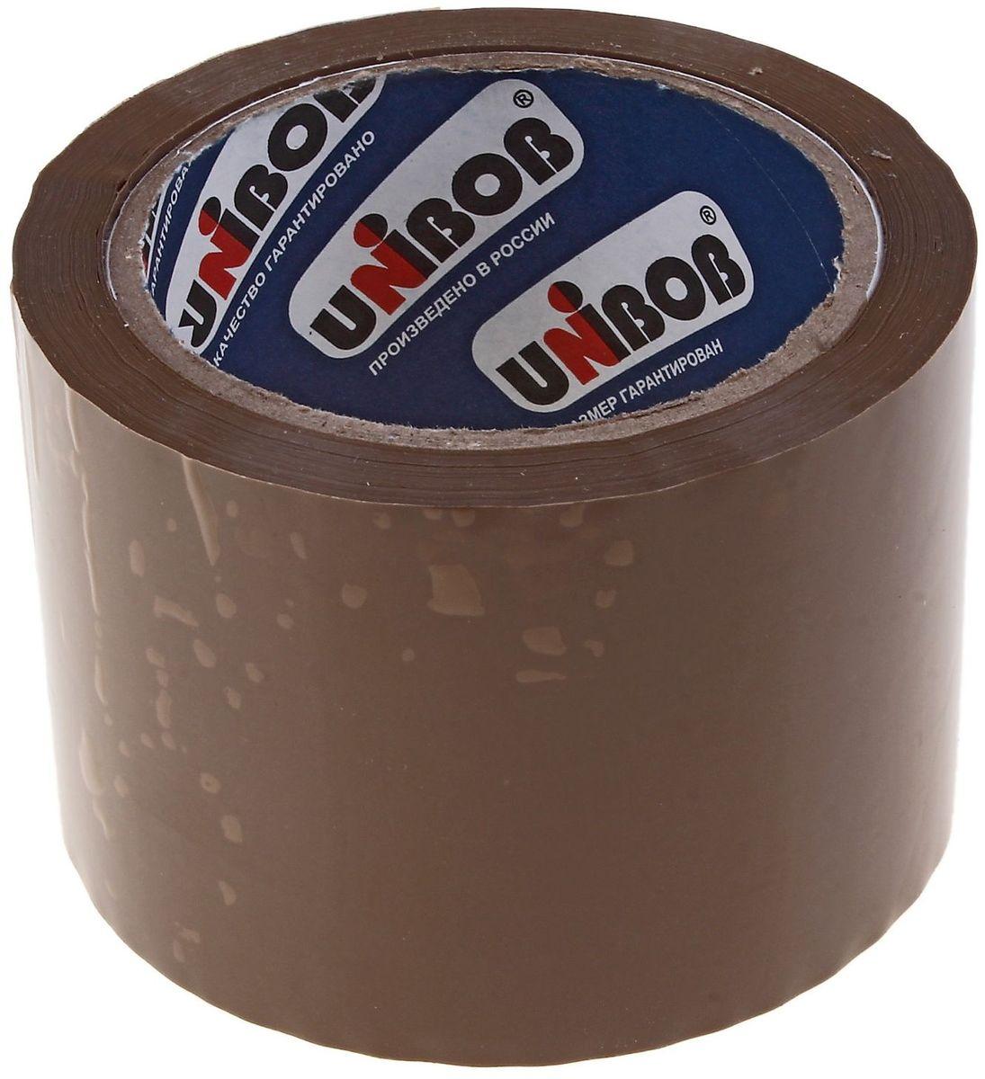 Unibob Клейкая лента 72 мм х 66 м цвет коричневый