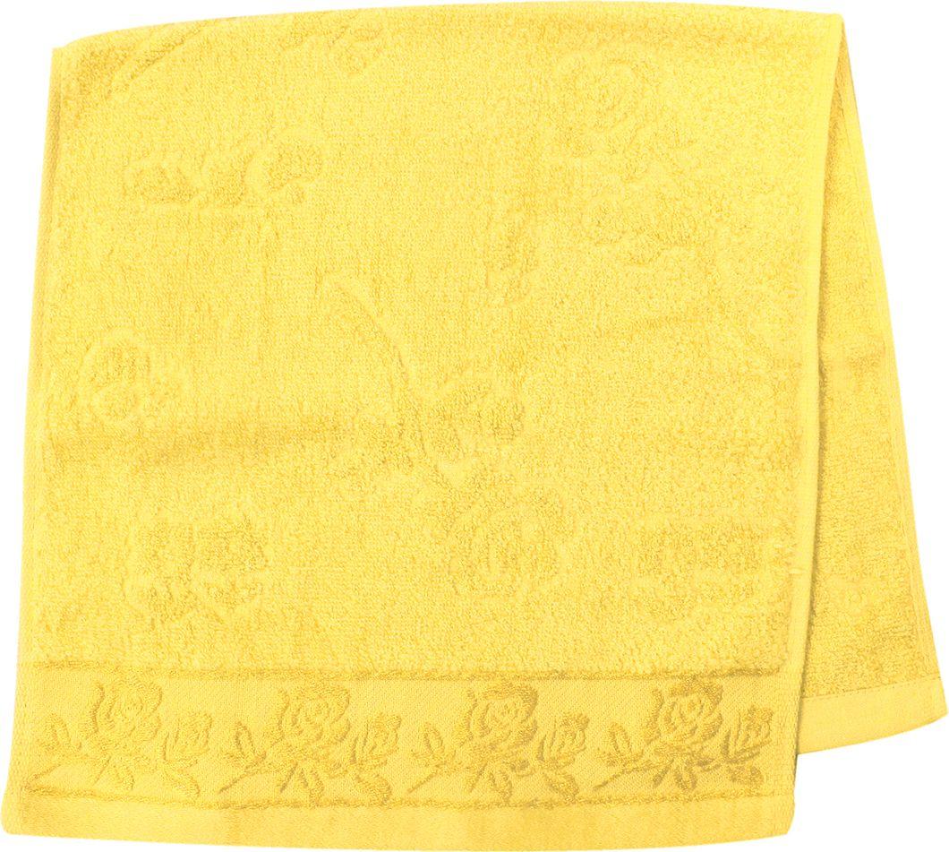 Полотенце махровое НВ Аваланж, цвет: желтый, 33 х 70 см. м0746_0685590Полотенце НВ Аваланж выполнено из натуральной махровой ткани (100% хлопок). Изделие отлично впитывает влагу, быстро сохнет, сохраняет яркость цвета и не теряет форму даже после многократных стирок. Полотенце очень практично и неприхотливо в уходе. Оно станет достойным выбором для вас и приятным подарком вашим близким.