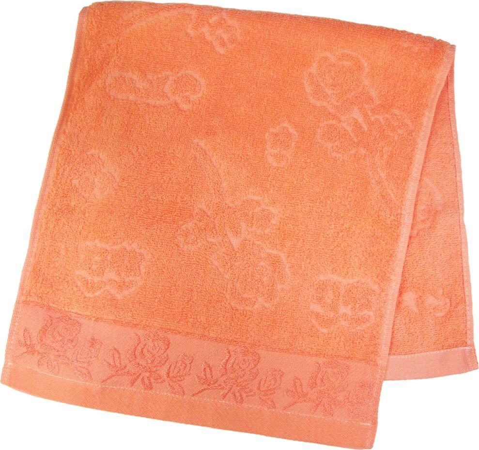 Полотенце махровое НВ Аваланж, цвет: персиковый, 33 х 70 см. м0746_1285593Полотенце НВ Аваланж выполнено из натуральной махровой ткани (100% хлопок). Изделие отлично впитывает влагу, быстро сохнет, сохраняет яркость цвета и не теряет форму даже после многократных стирок. Полотенце очень практично и неприхотливо в уходе. Оно станет достойным выбором для вас и приятным подарком вашим близким.