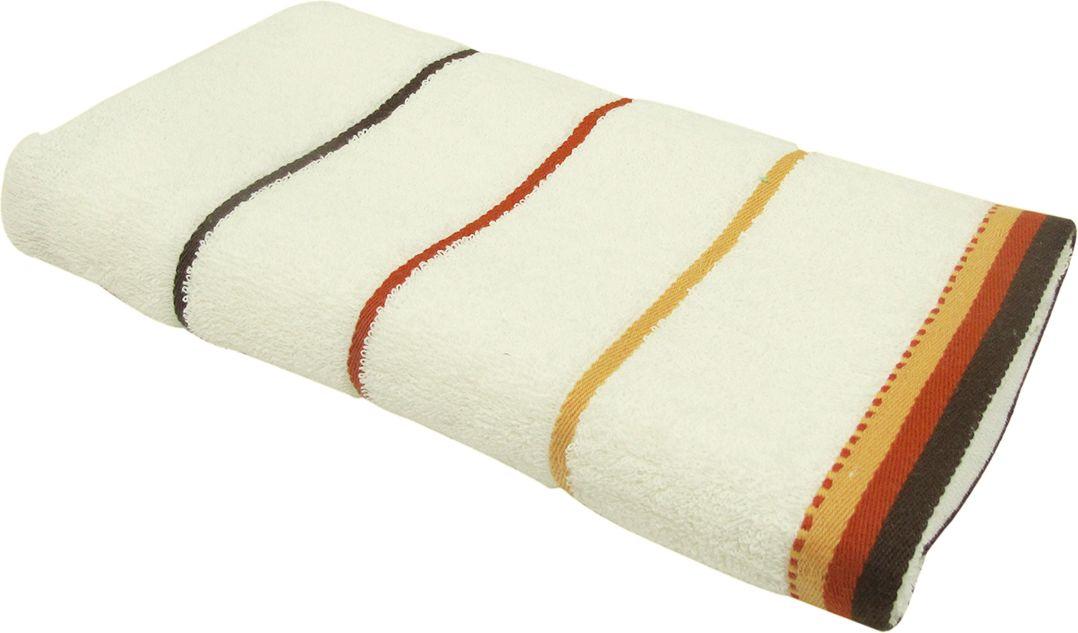Полотенце махровое НВ Тренд, цвет: кремовый, 70 х 140 см. м0754_0487824