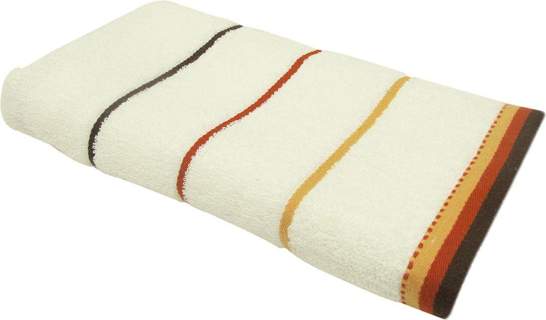 Полотенце махровое Bravo Тренд, цвет: кремовый, 33 х 70 см87826Полотенце Тренд выполнено из натуральной махровой ткани (100% хлопок). Изделие отлично впитывает влагу, быстро сохнет, сохраняет яркость цвета и не теряет форму даже после многократных стирок. Полотенце очень практично и неприхотливо в уходе. Оно создаст прекрасное настроение и украсит интерьер в ванной комнате.