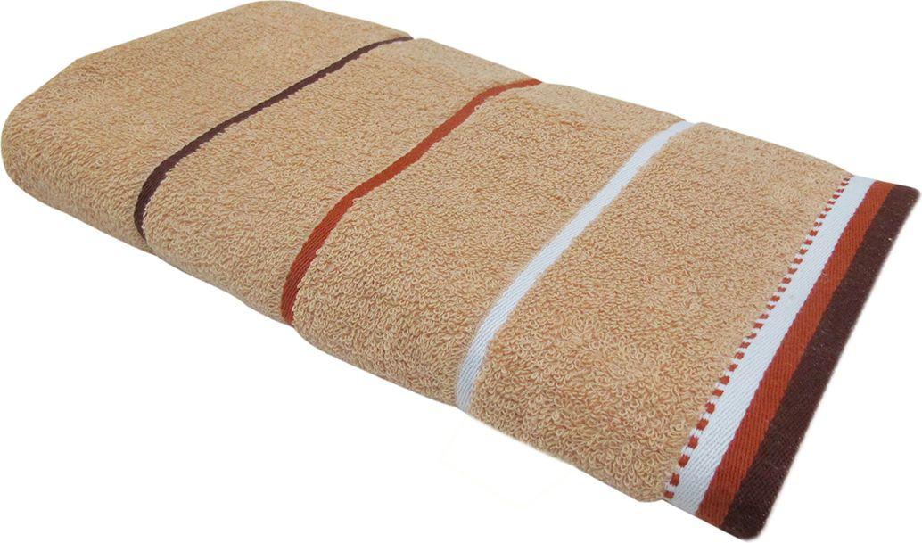 Полотенце махровое НВ Тренд, цвет: бежевый, 33 х 70 см. м0754_0587829Полотенце НВ Тренд выполнено из натуральной махровой ткани (100% хлопок) и дополнено принтом. Изделие отлично впитывает влагу, быстро сохнет, сохраняет яркость цвета и не теряет форму даже после многократных стирок. Полотенце очень практично и неприхотливо в уходе. Оно станет достойным выбором для вас и приятным подарком вашим близким.
