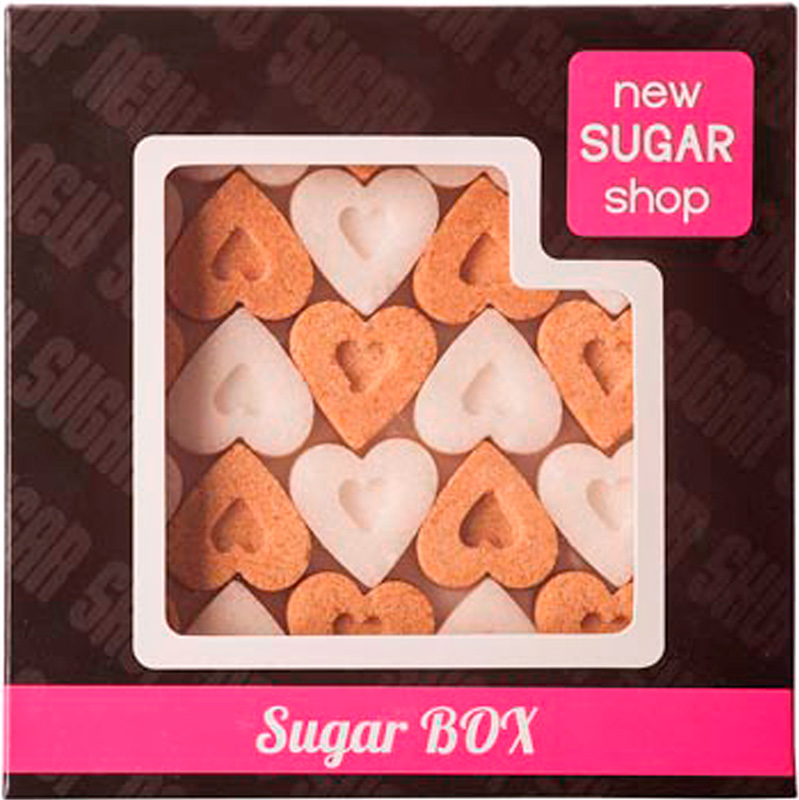 Sugar Box Сердечки фигурный сахар, 250 г худи print bar sugar box
